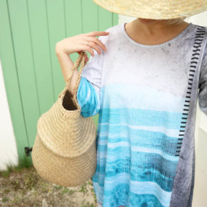 SKADIY ¾ sleeve dress costa 013 front 2