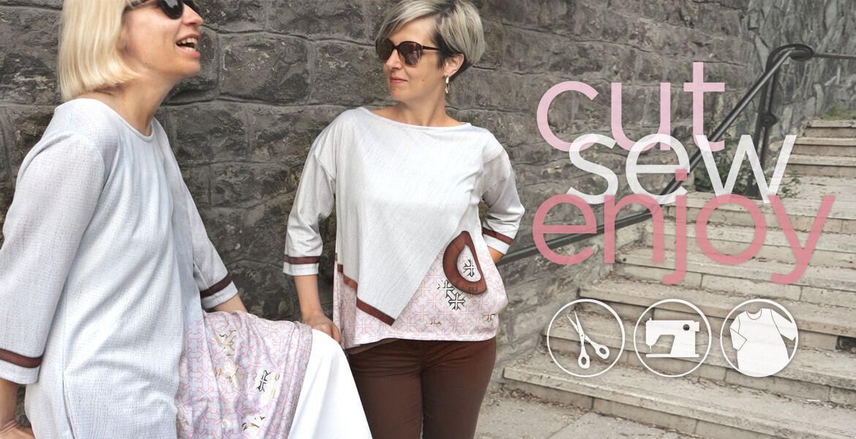SKADIY slider - wabisabi collection - cut, sew, enjoy